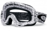Oakley O-Frame Motocross Goggles White Factory Text